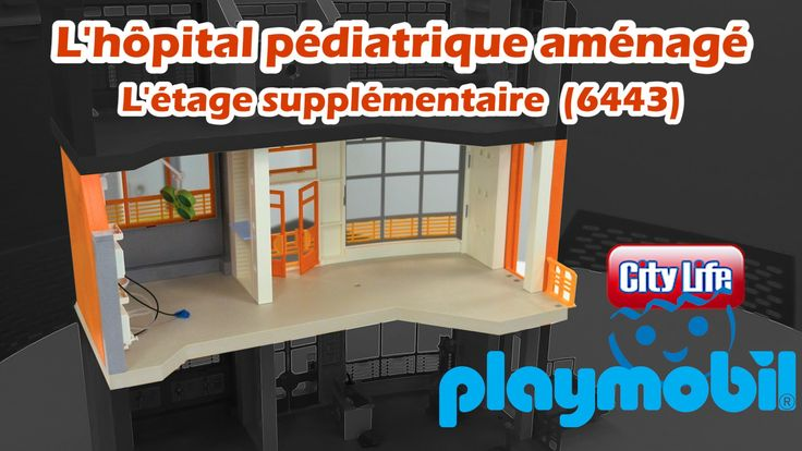 Playmobil 6443 - L'extension 1er étage de l'hôpital pédiatrique