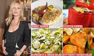 Detox coach Amanda Hamilton unveils Kate Moss's diet plan | Daily Mail Online