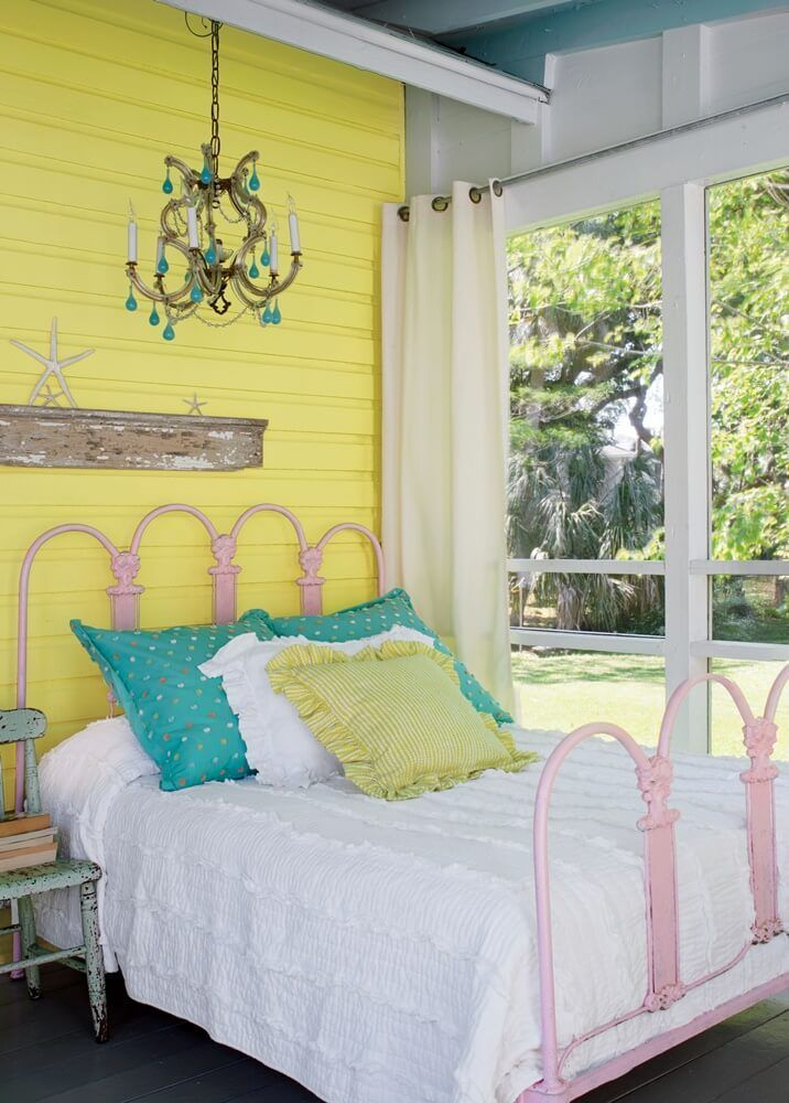 Pretty In Yellow Tybee Island Cottage With Images Beach