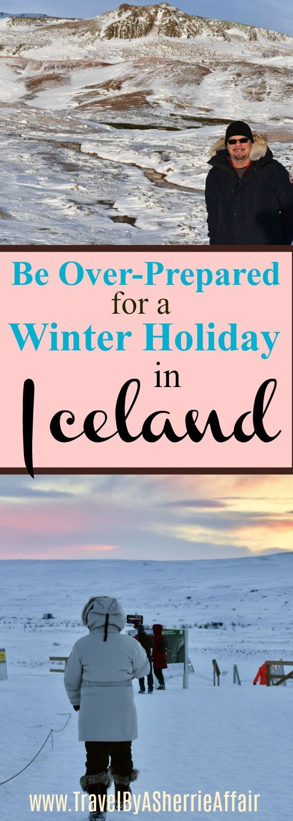 Yes it is better to Over-Prepared when you take a trip to Iceland in the winter.  The winter in Iceland is amazing and beautiful, but you will enjoy yourself more with information on  a few key things to bring and to know before going!  #Iceland #Icelandwinter #travel #Icelandpacking #Wintertrip #Packinglist