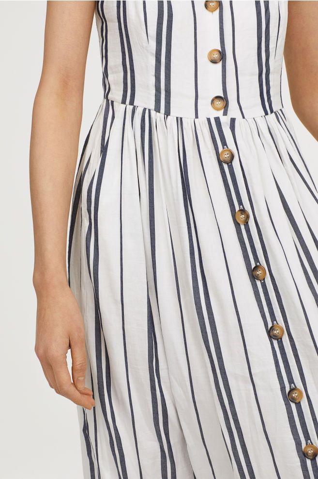 1f05b2b1348b Dress with Buttons in 2019 | Fashion | Dresses, Sun dress casual ...
