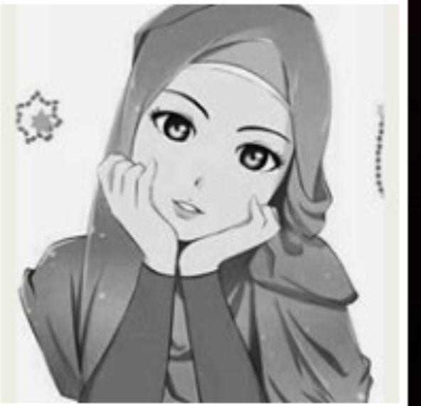 #hijab #muslım #anime