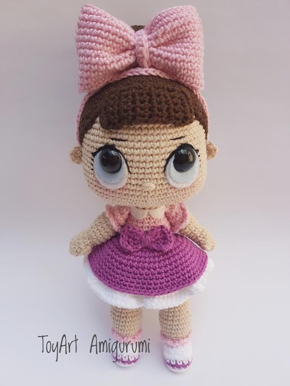 Free pattern amigurumi doll crochet Tess - Katkarmela о вязании   760x570
