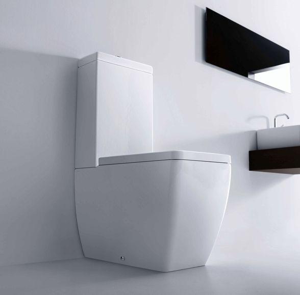 321106-ECS Lavabo  Lavabo Ego Gulvstående toalett 600x360 mm. m/myktluk. sete/lokk, ECS