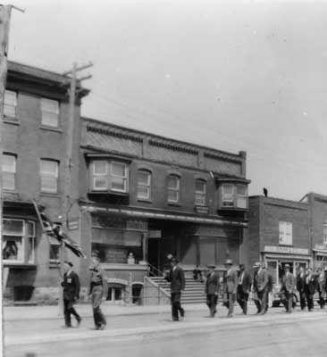 Veterans Day Parade, Thessalon, circa 1935