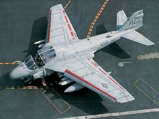 Grumman A 6e Intruder Us Military Aircraft Aircraft Us Navy Aircraft