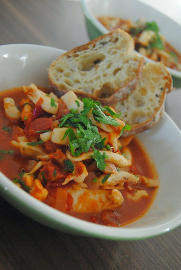 Rezept Sepia in Tomatensoße