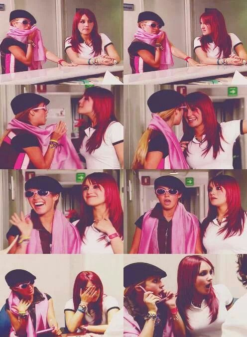 Anahi and Dulce Maria