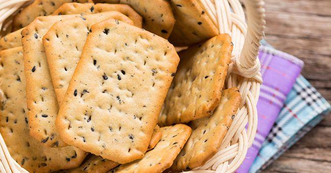 Crackers fatti in casa: la ricetta