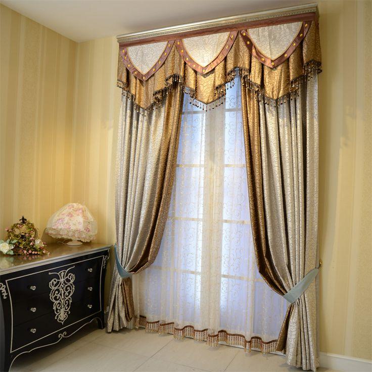 luxury window curtain - Golden Crown $150  (55% off)