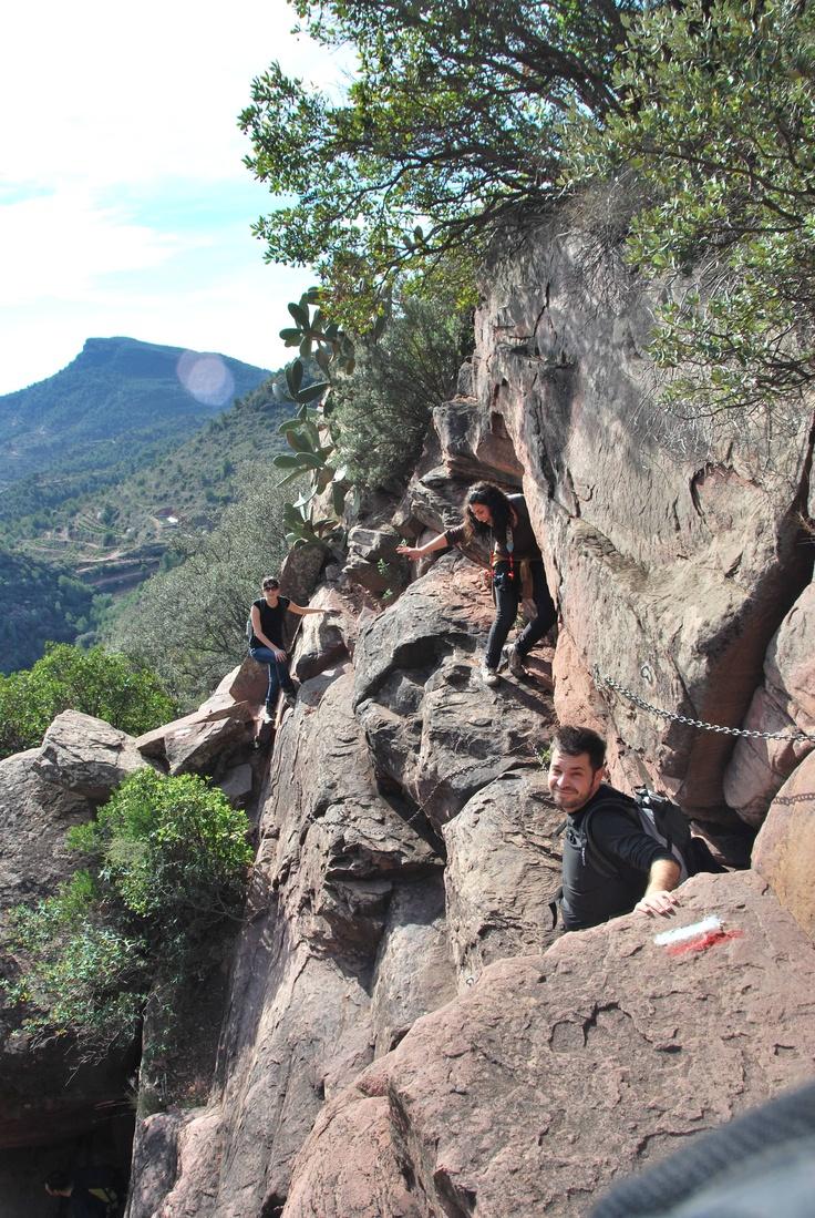 Climbing the garbi mountain