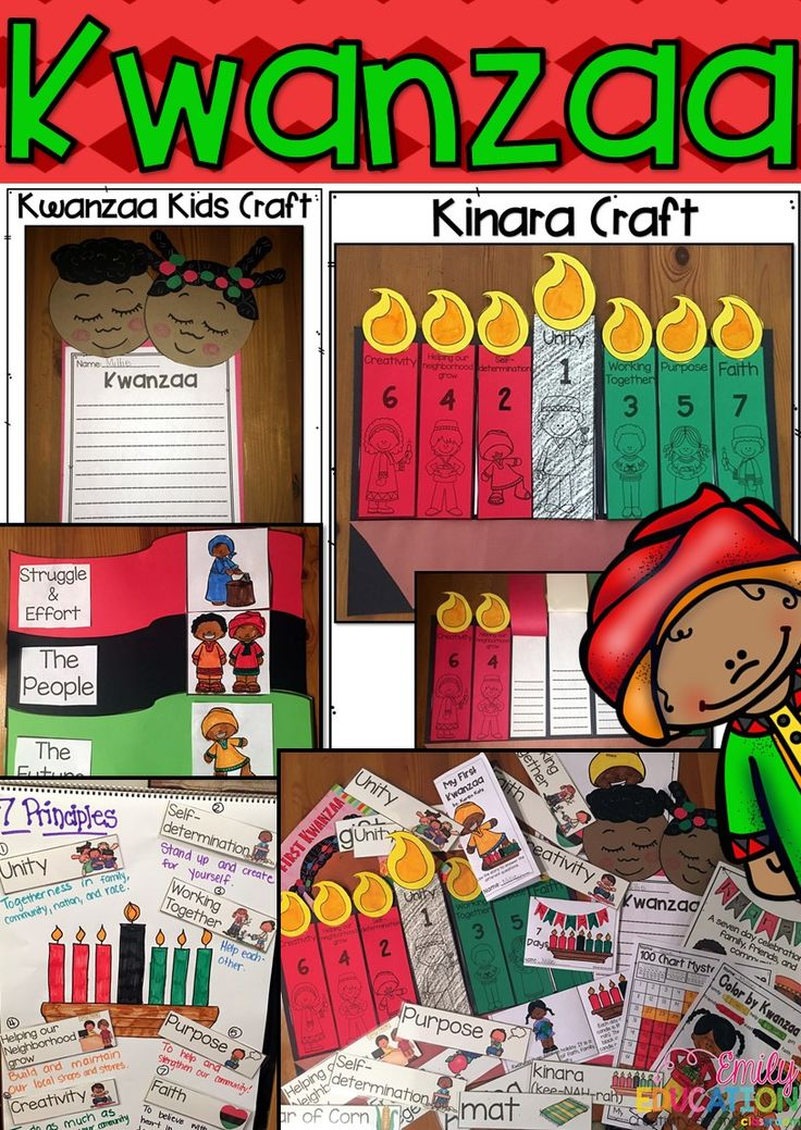 Learning about Holidays Around the World? Check out this activity pack all about Kwanzaa! Packed full with crafts, emergent readers, printables, and more!