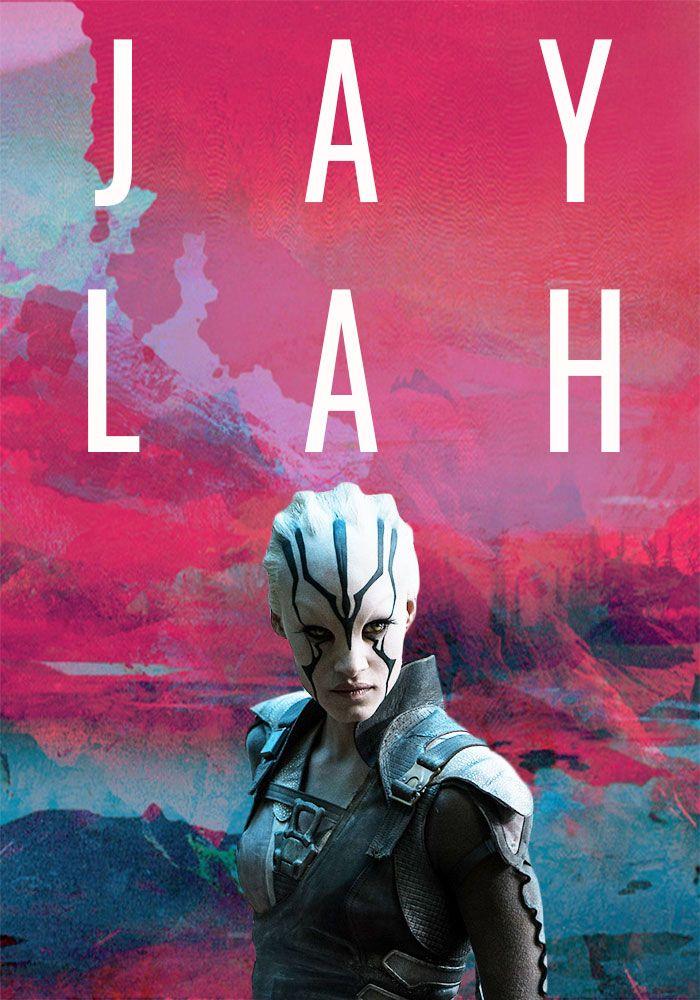 "blakeoctavia: "" ""female characters we deserve ➝ jaylah, star trek beyond "" """