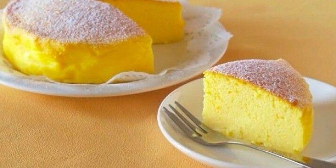 ЭТОТ ТОРТ ГЕНИАЛЬНАЯ ВЫДУМКА ЯПОНСКИХ КУЛИНАРОВ! ВСЕГО 3 ИНГРЕДИЕНТА Чудесный десерт! Вкусный, нежный, просто тает во рту!