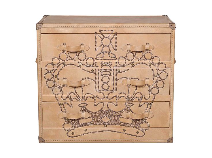 Crown Studded Chest of Drawers by Andrew Martin | at Corso de' Fiori