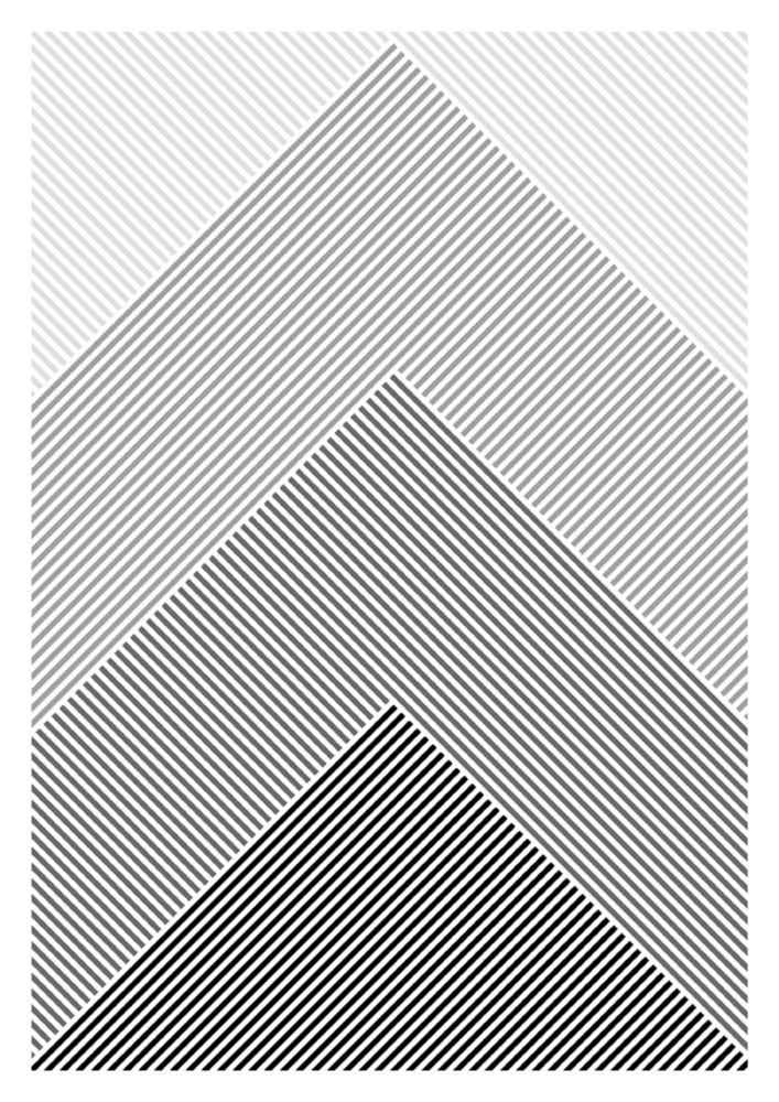 Line patterns design for art