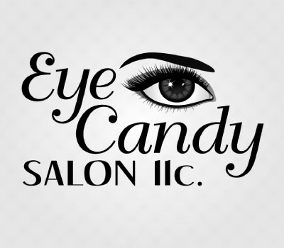 Eye Candy Salon Logo Design by Kimbec Creative