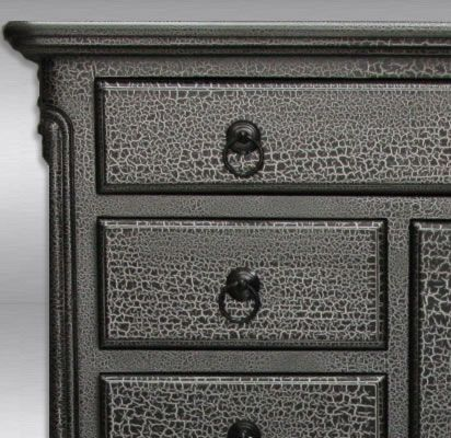 Crackle Paint Furniture Crackle Paint Furniture Pinterest Gray Dresser Gray And Drawers
