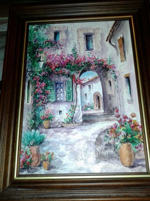 Geniune oil painting, from Spain