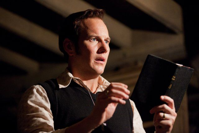 Still of Patrick Wilson in The Conjuring---------- DOES ANYBODY ELSE SEE THE RESEMBLANCE TO MYCROFT(Mark Gatiss) OR AM I JUST INSANE?
