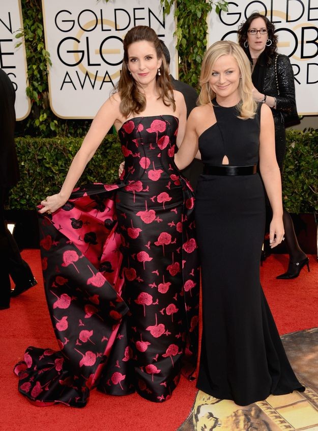 Amy Poehler And Tina Fey's Best Moments Of The 2014 GoldenGlobes