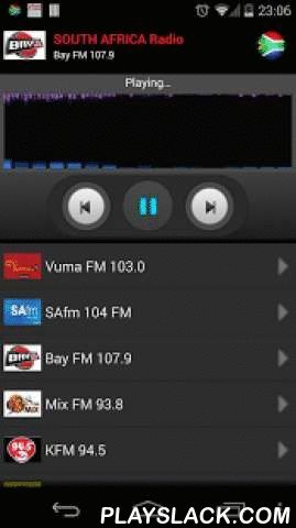 RADIO SOUTH AFRICA  Android App - playslack.com , Listen all South Africa radio stations on your mobile.For more stations, just send me an email an I will add them in the next update.Find the following stations:- Vuma FM 103.0- SAfm 104 FM- Bay FM 107.9- Mix FM 93.8- KFM 94.5- East Coast Radio 94.95 FM- Lesedi 87.7 FM- Metro FM 92.4- Radio 5 FM 96.8- 702 Talk Radio- Highveld Stereo FM 94.7- Thobela FM 87.9- Kaya 95.9 FM- The Voice of the Cape FM 100.4- Radio 2000 FM 97.2- Kool FM 97.3- Tuks…