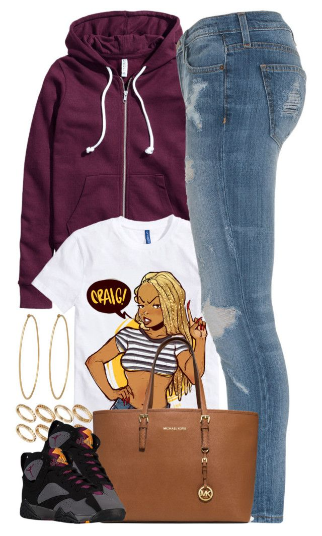 """""""Untitled #1483"""" by power-beauty ❤ liked on Polyvore featuring Social Anarchy, H&M, Current/Elliott, ASOS, MICHAEL Michael Kors, women's clothing, women, female, woman and misses"""