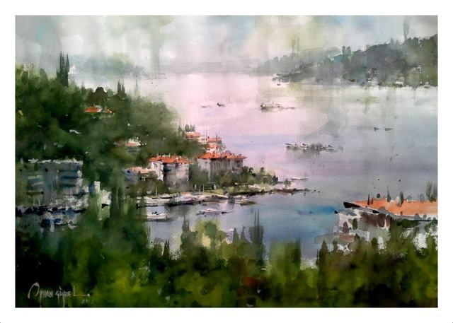orhan gürel on Pinterest | Watercolors, Google Search and Watercolour