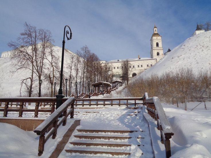Тобольск, лестница к Рентерее