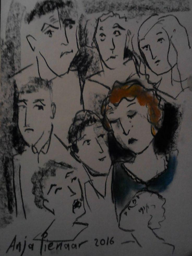 Anja Pienaar Art Name of drawing (words)