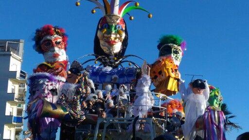 Carnival in Tuscany Follonica