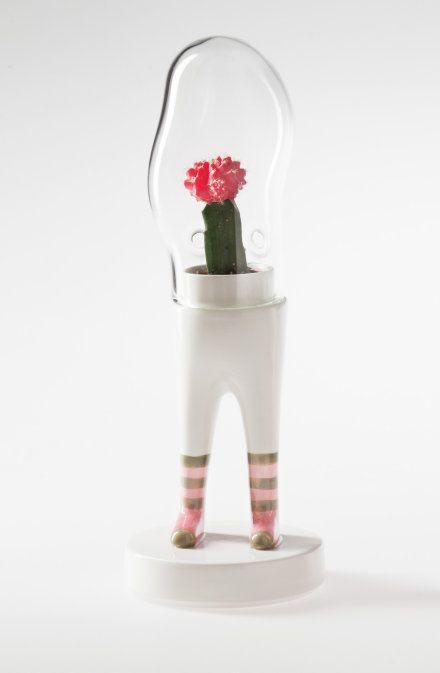 Оригинальные керамические горшки ручной работы для домашних растений.