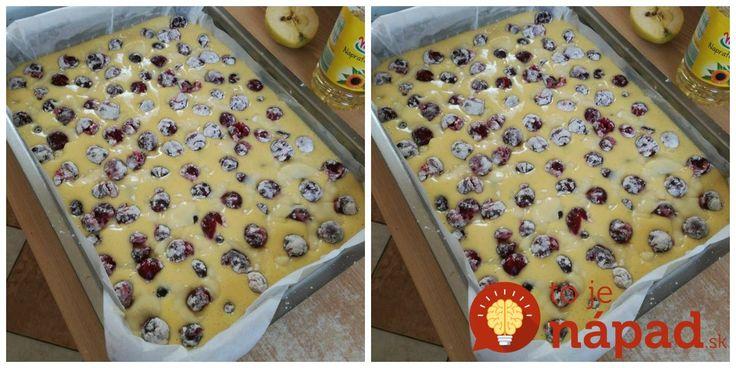 Výborný koláčik, úplne jednoduchý a je ešte lepší ako bublanina. Odporúčam skúsiť aj s malinami, alebo s iným ovocím.