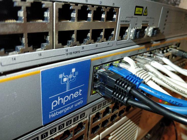 Don d'un switch à l'association VT Informatique