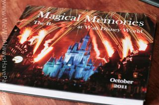 Tips for Creating A Really Cool Disney Photo Book - an alternative to a scrapbook