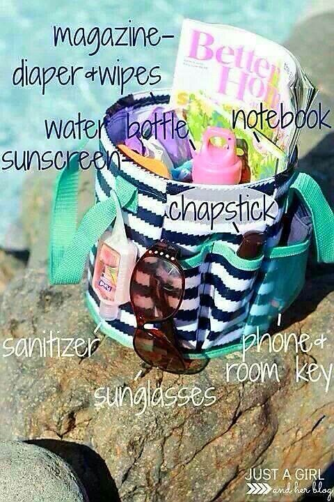 A fun way to bring your stuff to the pool or beach is in the Creative Caddy from Thirty-One. You can now bring your sunglasses, lip gloss, magazines or books, sunscreen, towel, water, phone and keys all in one bag! Click on the link to customize your own now. #pool #beach #swim