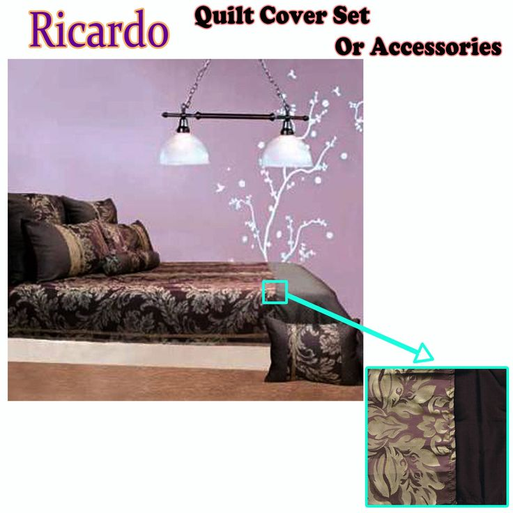 Ricardo Quilt Cover Set or Accessories by Phase 2