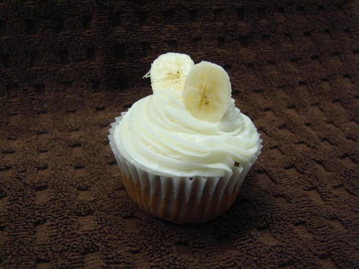 Gluten Free Banana Cupcake