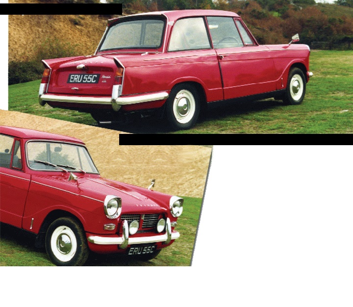 Triumph Herald. My reg was HER12F. Lovely car except the suspension wentTriumph Heraldic, Colours Nerd