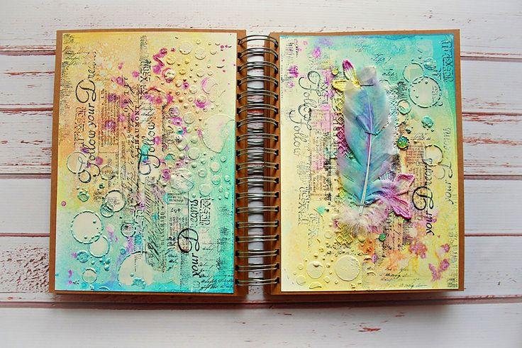 marta art journal dropdeadiva magicals sprays 6