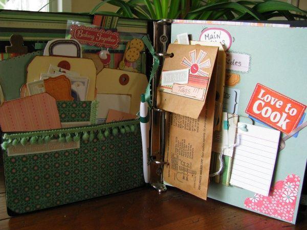 Smash book / junk journal by fandhmom (inside)