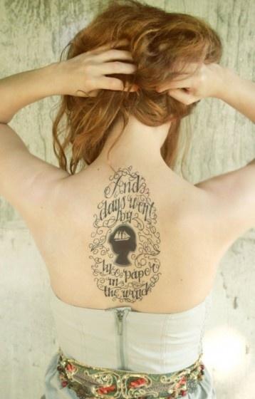 Songteksten vertaald naar tatoeages