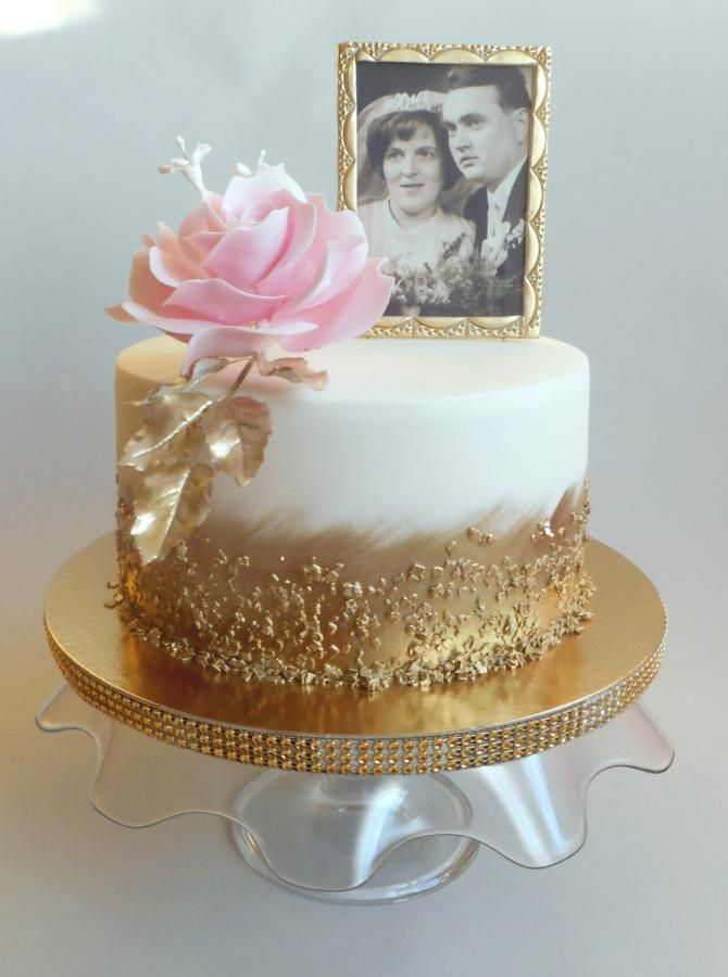 50th Wedding Anniversary Cake By Jitkap Http Cakesdecor Com Cakes 320096 50 50th Wedding Anniversary Cakes 50th Anniversary Cakes Wedding Anniversary Cakes