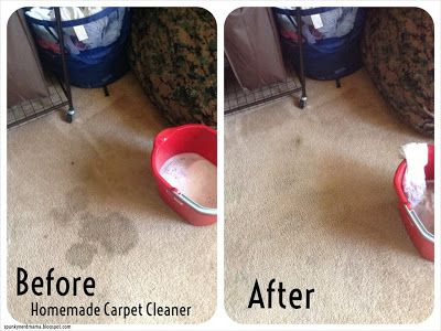 Dawn, peroxide, baking soda and warm water - works just as well as the specialty cleaner we had been buying!