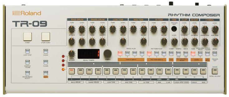 ローランド初のターンテーブルTT-09、DJミキサーDJ-09発表。各500台限定、TR-909発売33周年記念モデル - Engadget Japanese