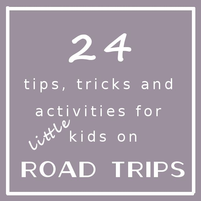 Tips For Surviving Car Travel with Kids. I wish I had thought of these when mine was younger! Some we can still use now :)