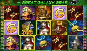 Un divertente viaggio nello spazio e un bonus a 6 livelli caratterizzano la #slot #machine #online The Great Galaxy Grab, a 5 rulli e 20 payline.