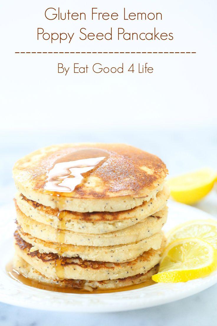 free lemon poppy seed pancakes gluten free pancakes gluten free breads ...