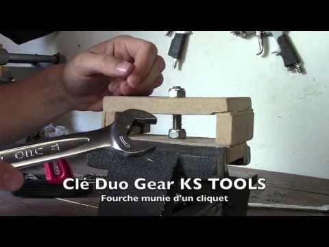 KS TOOLS : Clés à cliquet Duo Gear