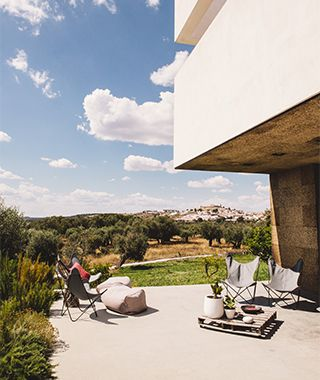 New Boutique Hotels in Portugal - Travel + Leisure Jan. 2015 | Along the cliff-studded coast of the Algarve and on the sun-drenched plains of the Alentejo, these architecturally dazzling hotels stand out boldly from the wild, rural landscape, yet feel entirely rooted in the local culture.